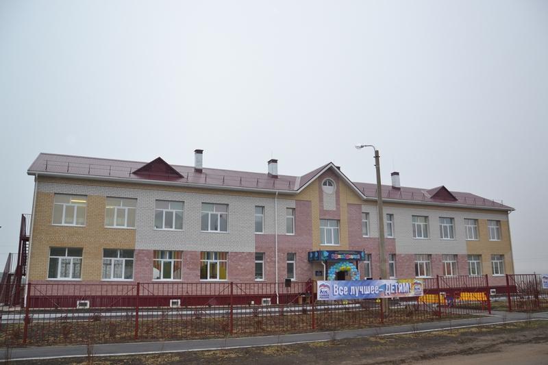 В Чувашии состоялось открытие нового детского сада
