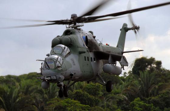 Гособоронзаказ 2014 года по поставке вертолетов Ми-35М в ЮВО полностью выполнен