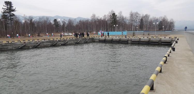 Открытие нового причала состоялось в Байкальске Иркутской области