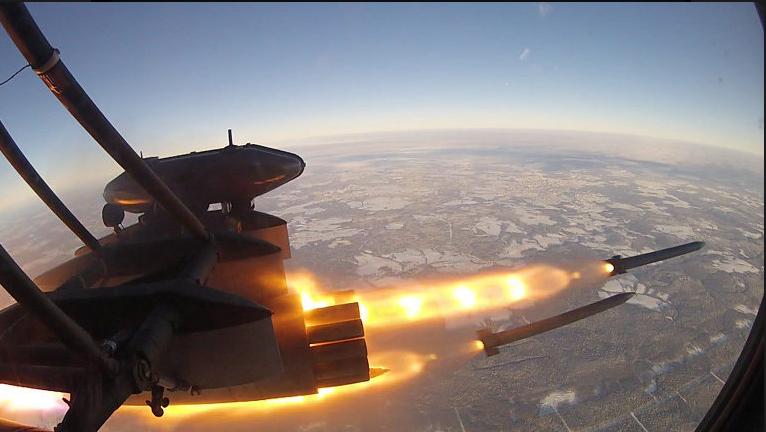 Россия приняла на вооружение уникальную неуправляемую авиаракету