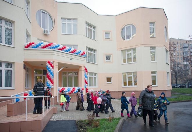Новый детский сад открылся в Москве на Каширском шоссе