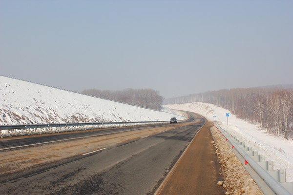 Федеральная трасса «Чита-Хабаровск» превратилась в автобан