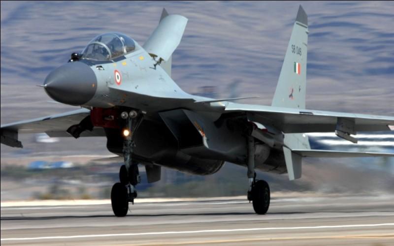 Многоцелевой истребитель СУ-30МКИ ВВС Индии