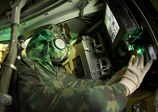 В полк РХБЗ Южного военного округа, дислоцированный в Ингушетии, поступило около 200 единиц нового вооружения
