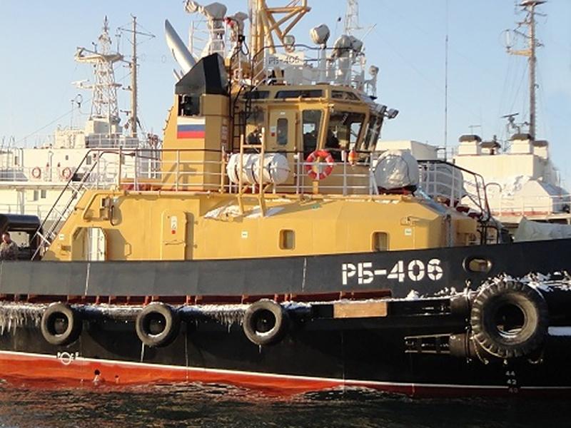28 Ноября 2014 Рейдовые буксиры РБ-406 и РБ-407 введены в эксплуатацию в составе судов обеспечения Тихоокеанского флота РФ.