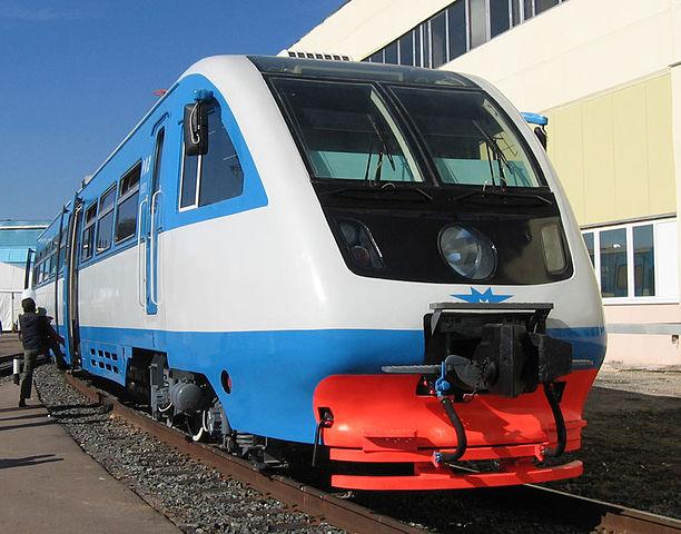 Cостоялась презентация нового подвижного состава – рельсового автобуса РА-2.