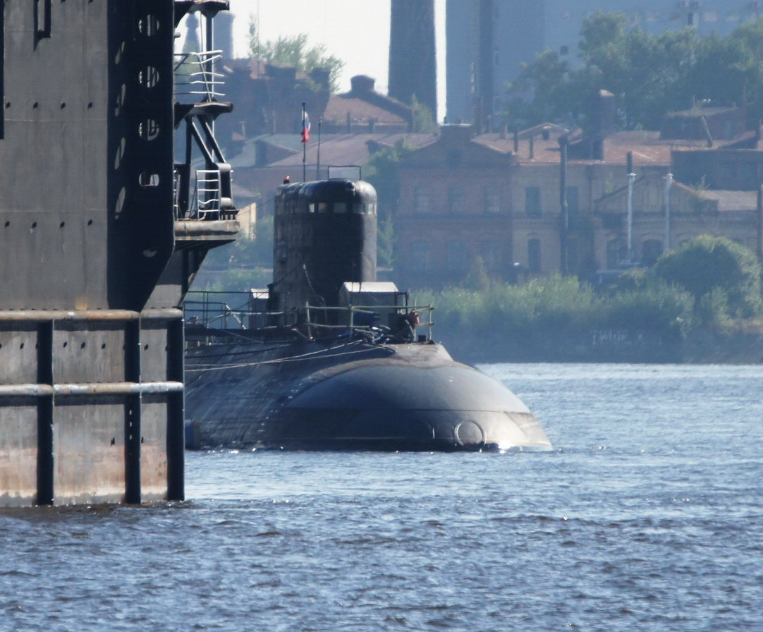 Третья подлодка проекта 636.1 готова к отправке во Вьетнам