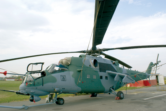 Завершилась поставка 12 вертолетов Ми-35М для ВВС Бразилии