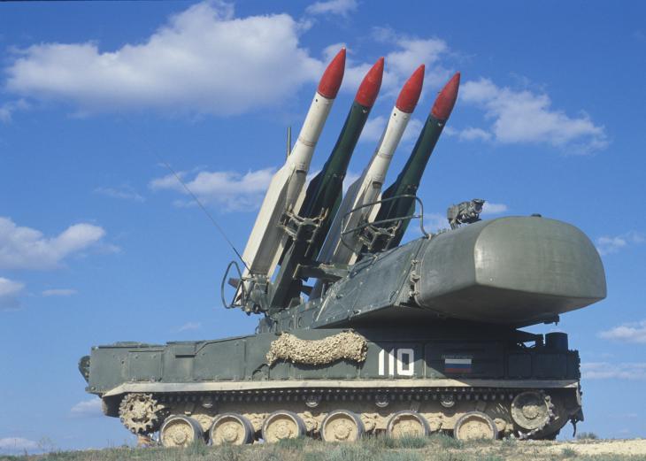 «Бук-М1» заступил на дежурство в Алтайском крае