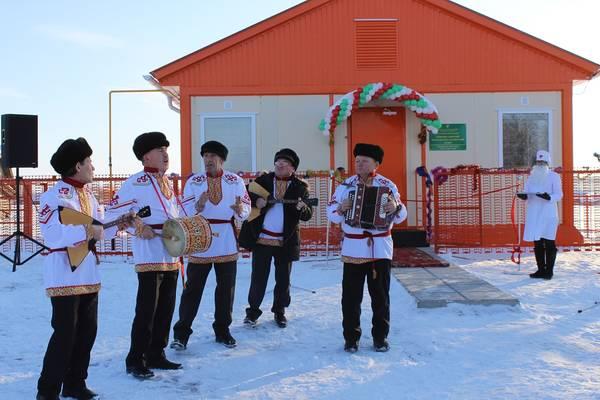 Новый модульный ФАП открылся в Дрожжановском районе Республики Татарстан