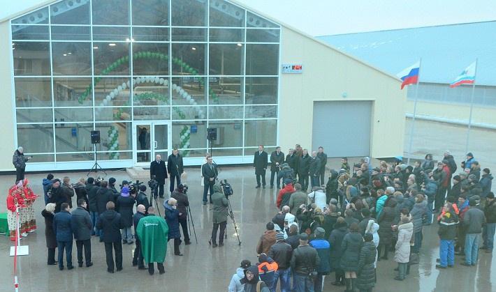 Новая молочно-товарная ферма открылась в Ленинградской области