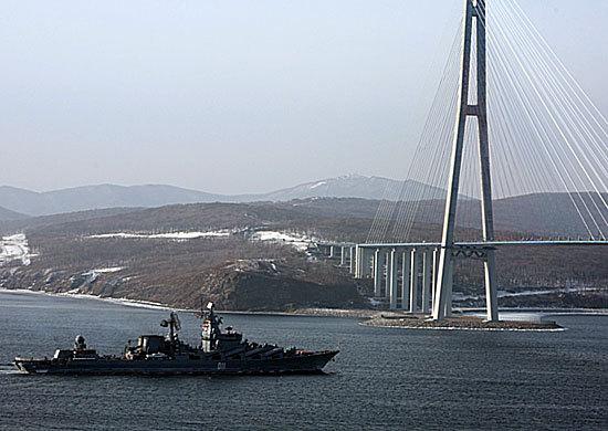 Отряд кораблей Тихоокеанского флота возвратился во Владивосток из дальнего похода