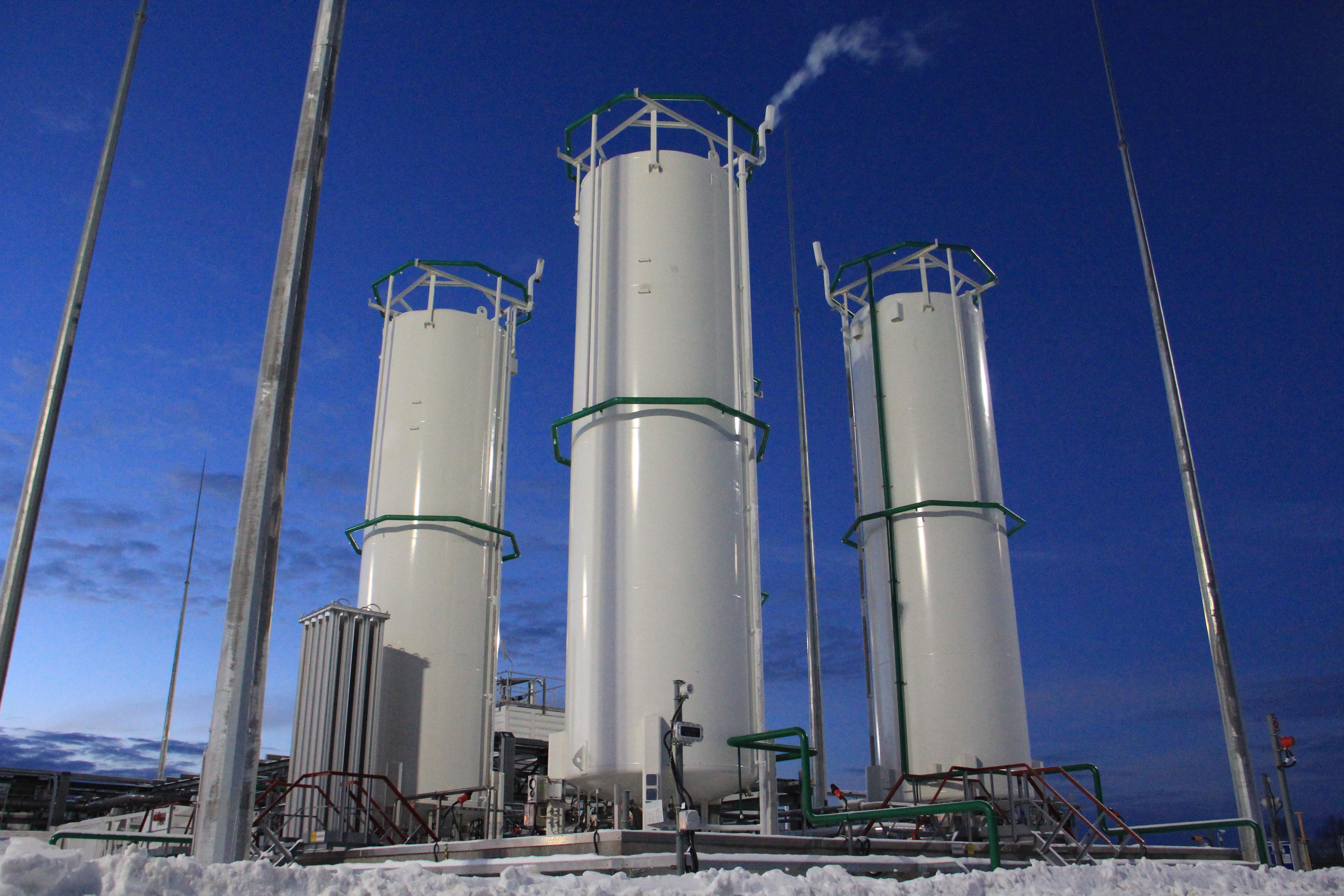 «Газпром» реализовал первый проект по строительству комплекса СПГ