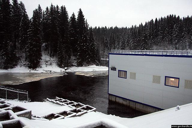 """В Карелии введена в строй новая малая гидроэлектростанция """"Каллиокоски"""""""