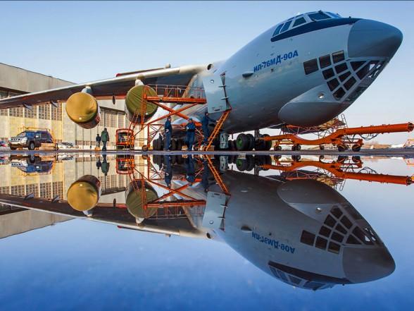 Очередной серийный Ил-76МД-90А совершил первый полет