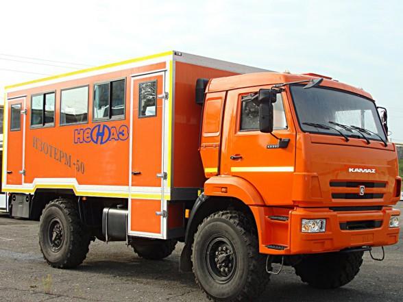 Вахтовый автобус КАМАЗа для суровых климатических условий
