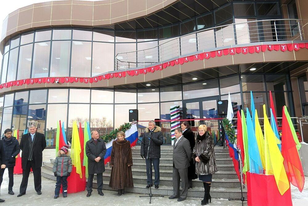 В Сахалинской области открылся спортивный комплекс с бассейном