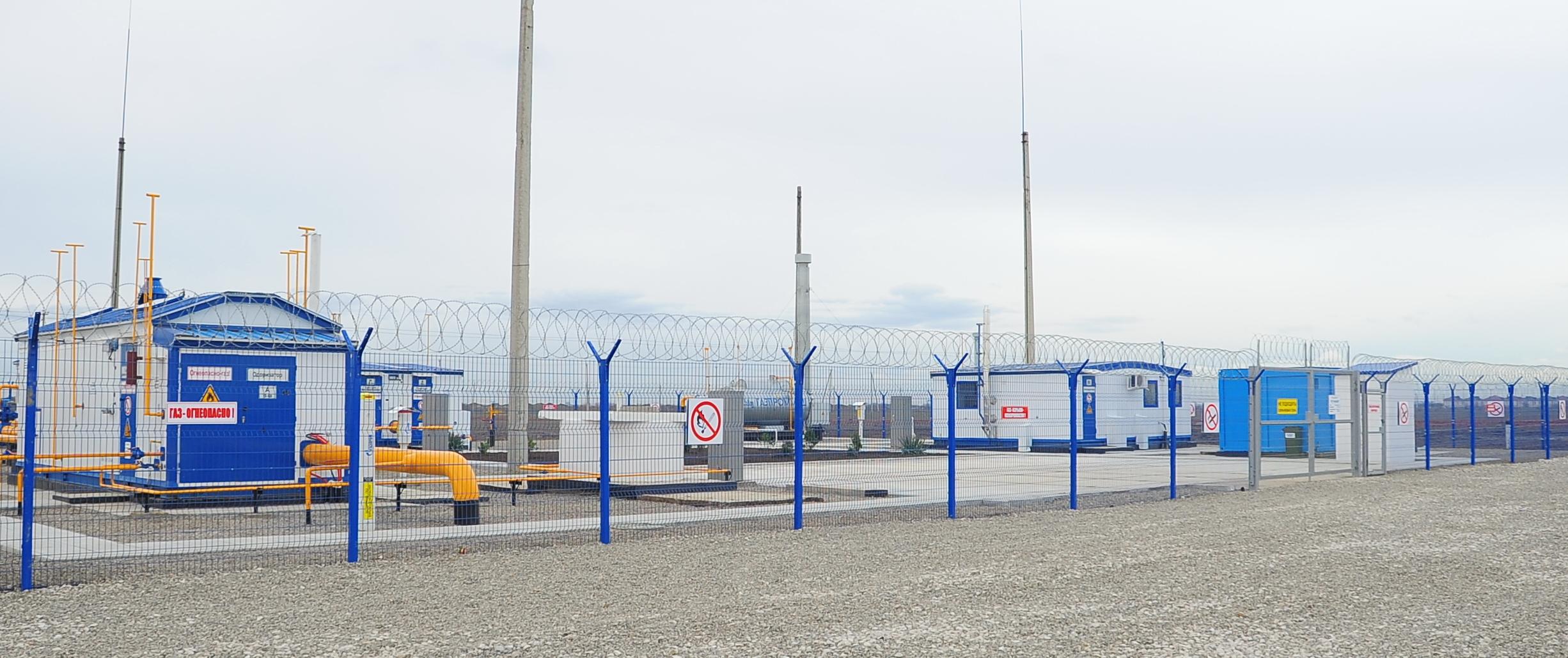 Введена в эксплуатацию автоматизированная газораспределительная станция «Чапаево»