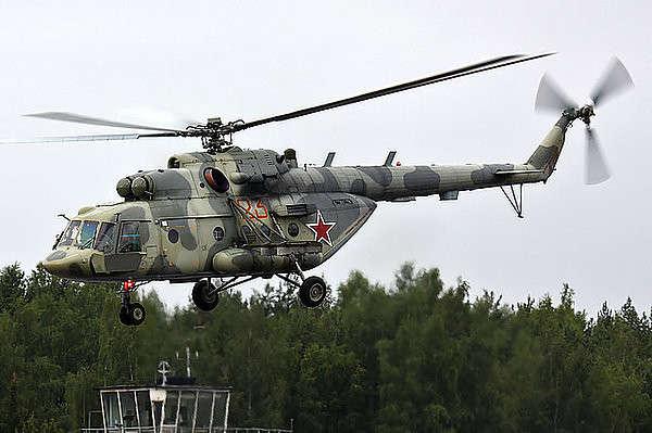14 вертолетов Ми-8МТВ-5 поступили в Западный Военный Округ