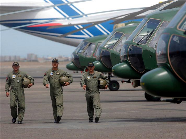 «Вертолеты России» поставили в республику Перу 8 Ми-171Ш