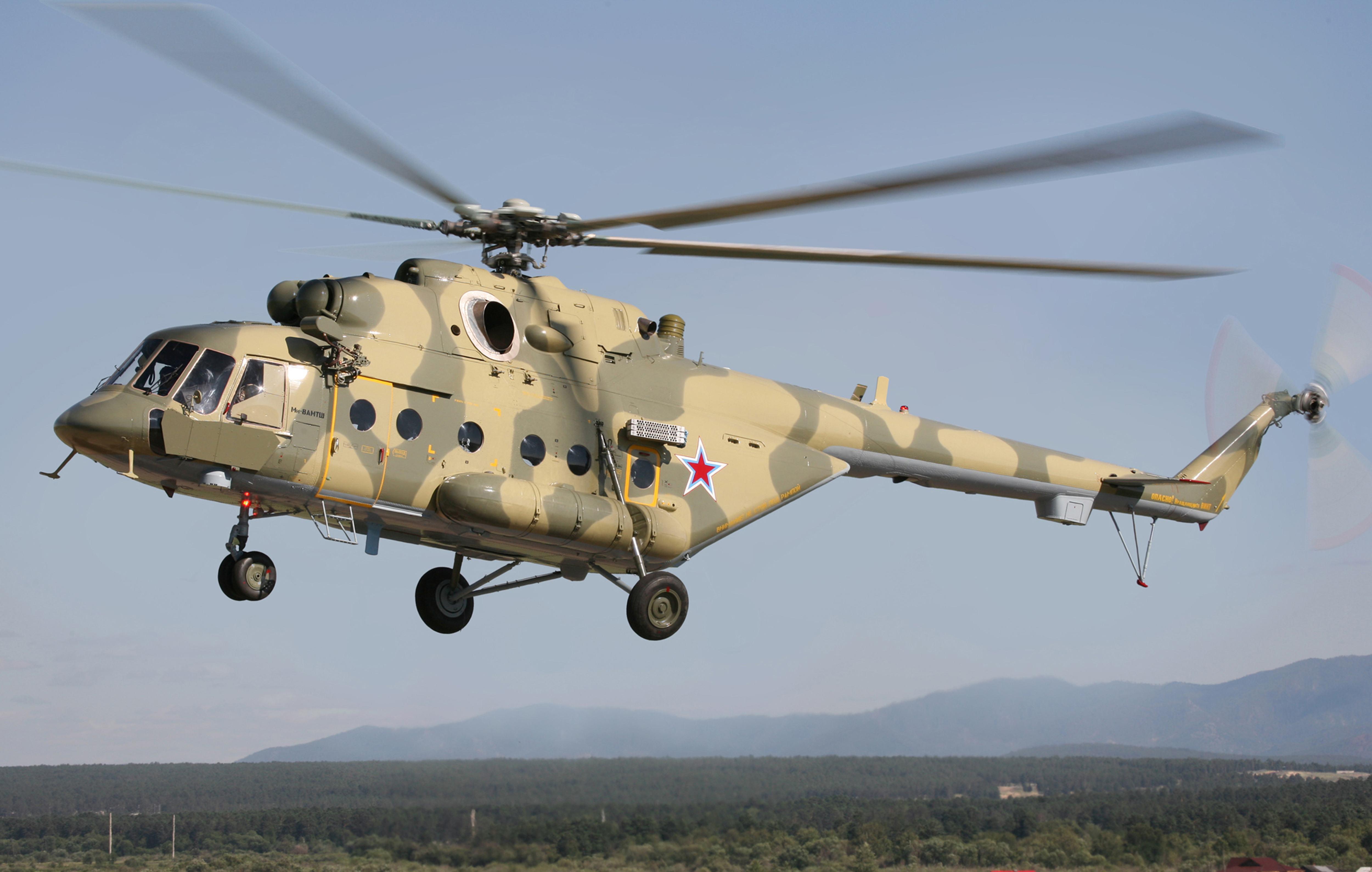 В Улан-Удэ начали собирать арктический вариант Ми-8АМТШ