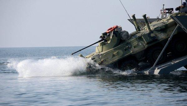 """Десантный катер """"Мичман Лермонтов"""" вышел на заводские ходовые испытания"""