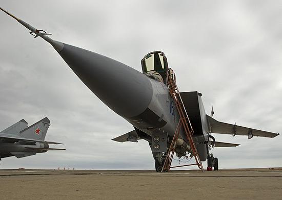 Истребительный авиаполк ЗВО принял на вооружение 8 модернизированных МиГ-31БМ