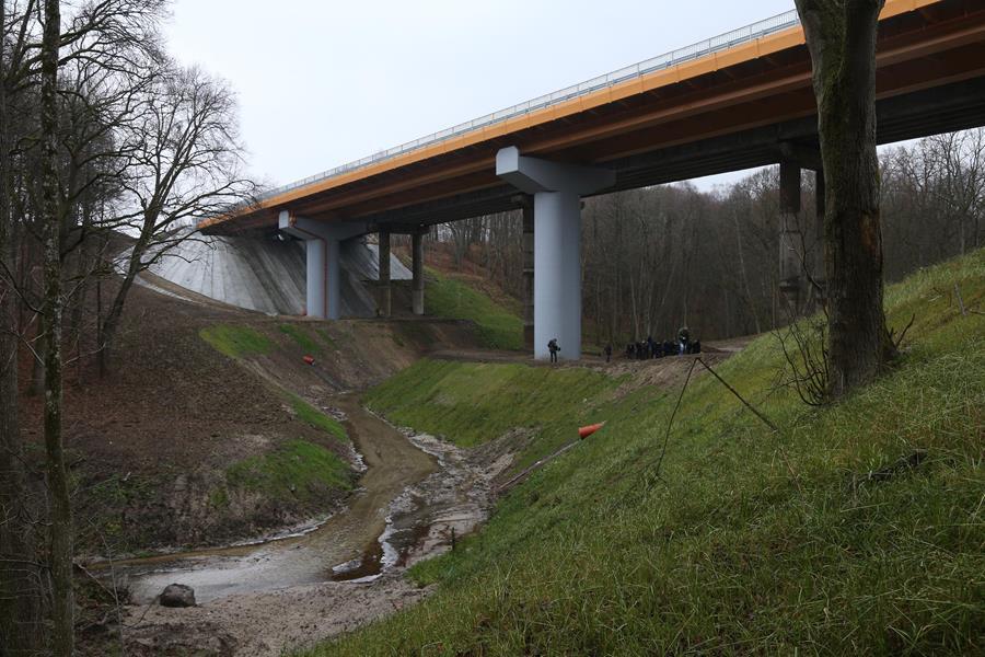 Состоялось открытие новомого моста на трассе Калининград — Мамоново-2