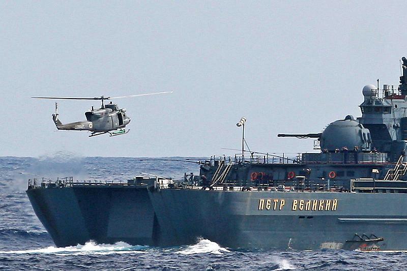 Атомный крейсер Северного флота «Петр Великий»