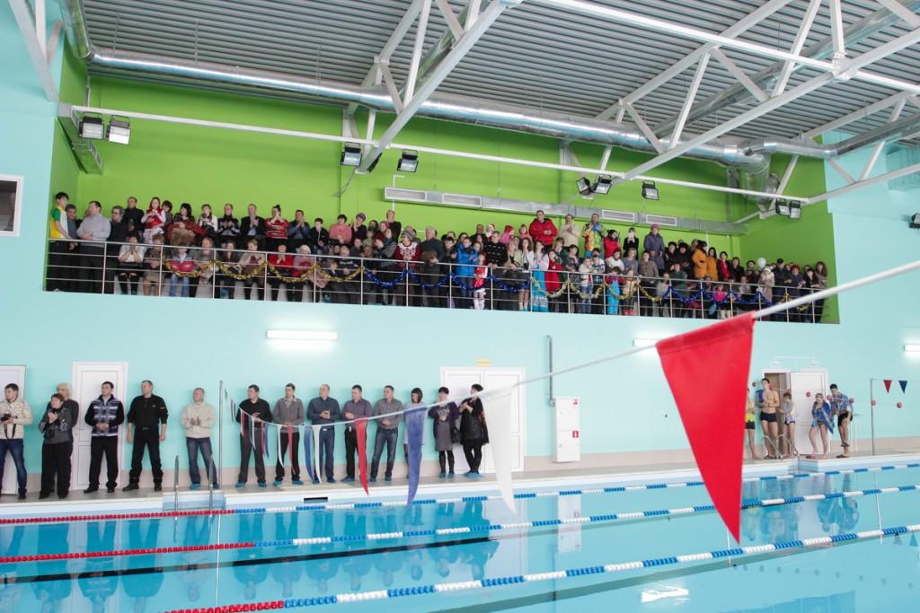 В Пензенской области состоялось открытие нового бассейна