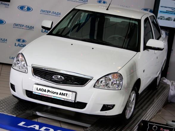 Cтартовали продажи Lada Priora c АМТ