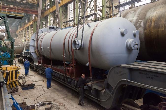 """""""ЗиО-Подольск"""" завершил производство подогревателей высокого давления для 4-го блока Ростовской АЭС"""