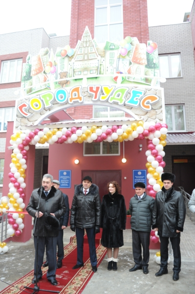 В Чебоксарах открыл свои двери новый детский сад «Город чудес»