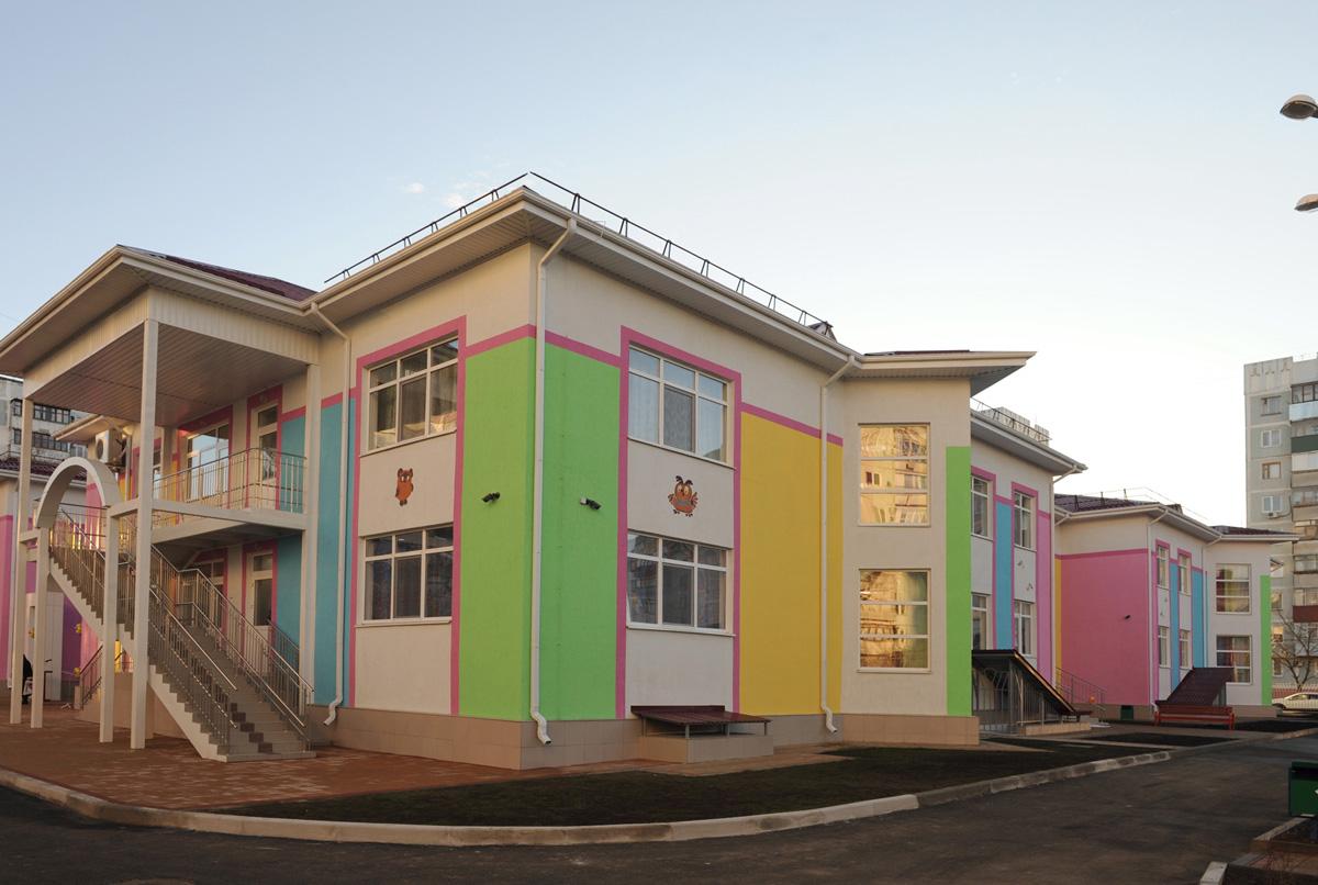 В Адыгее состоялось открытие нового детского сада