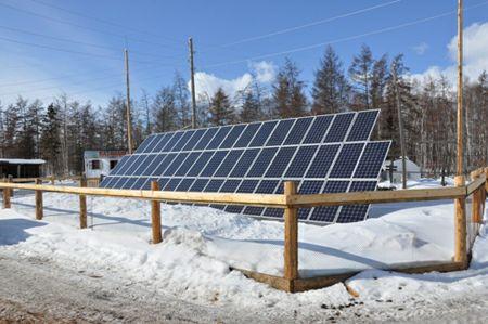 В Якутии запущена первая экспериментальная солнечная электростанция