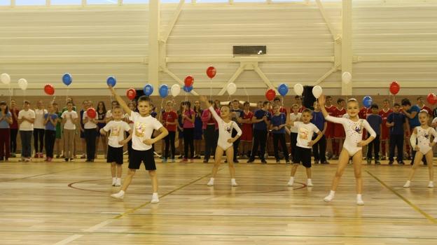 В Воронежской области открылся новый физкультурно-оздоровительный комплекс