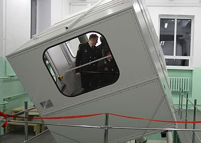 Подводники Северного флота получили новый тренажер