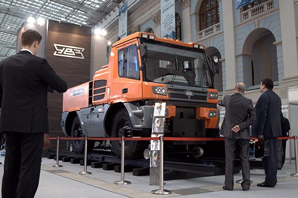 «Уралвагонзавод» представил серийный локомобиль