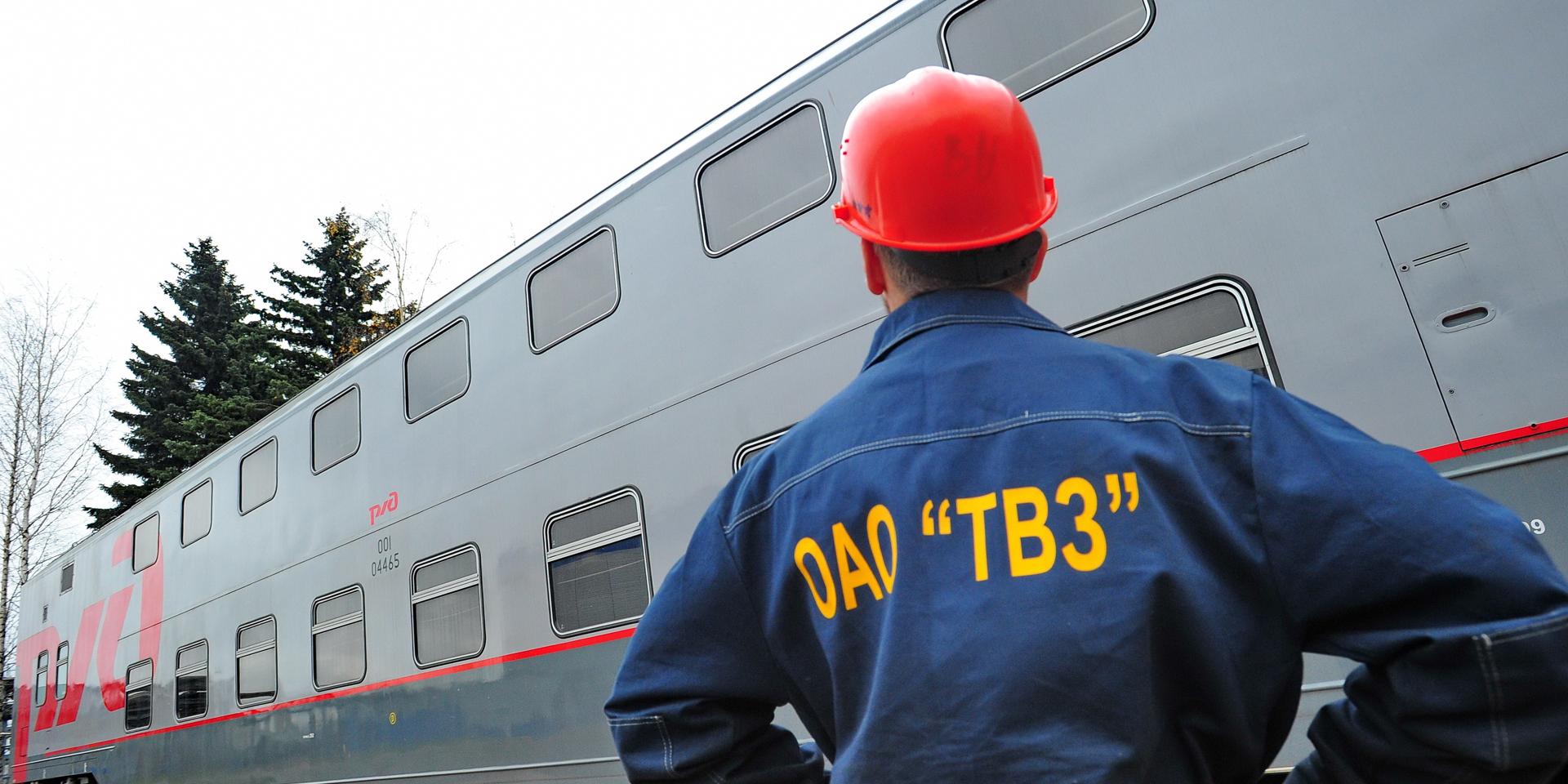 Первый сидячий двухэтажный вагон изготовлен в России