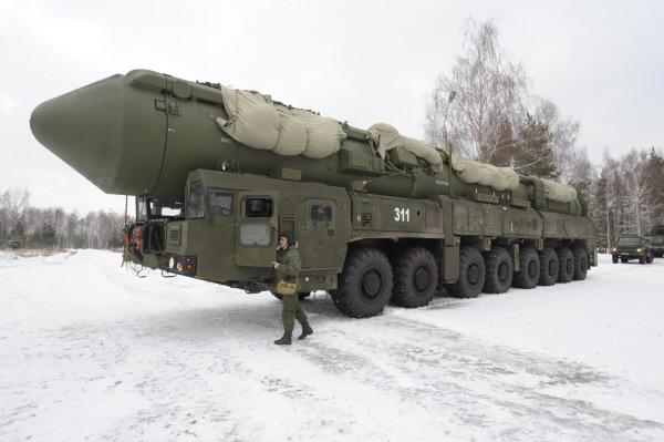 С Плесецка произведен испытательный пуск баллистической ракеты «Ярс»