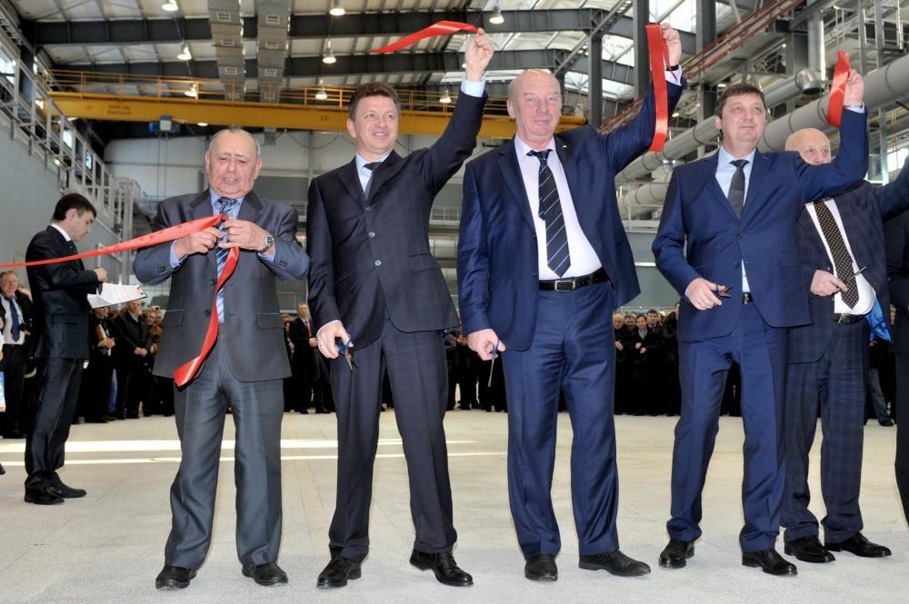 В Удмуртии открыт новый литейный комплекс Сарапульского электрогенераторного завода