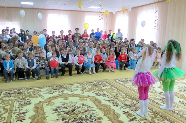 В Ростовской области открылся новый детский сад «Радуга» В Ростовской области открылся новый детский сад «Радуга»
