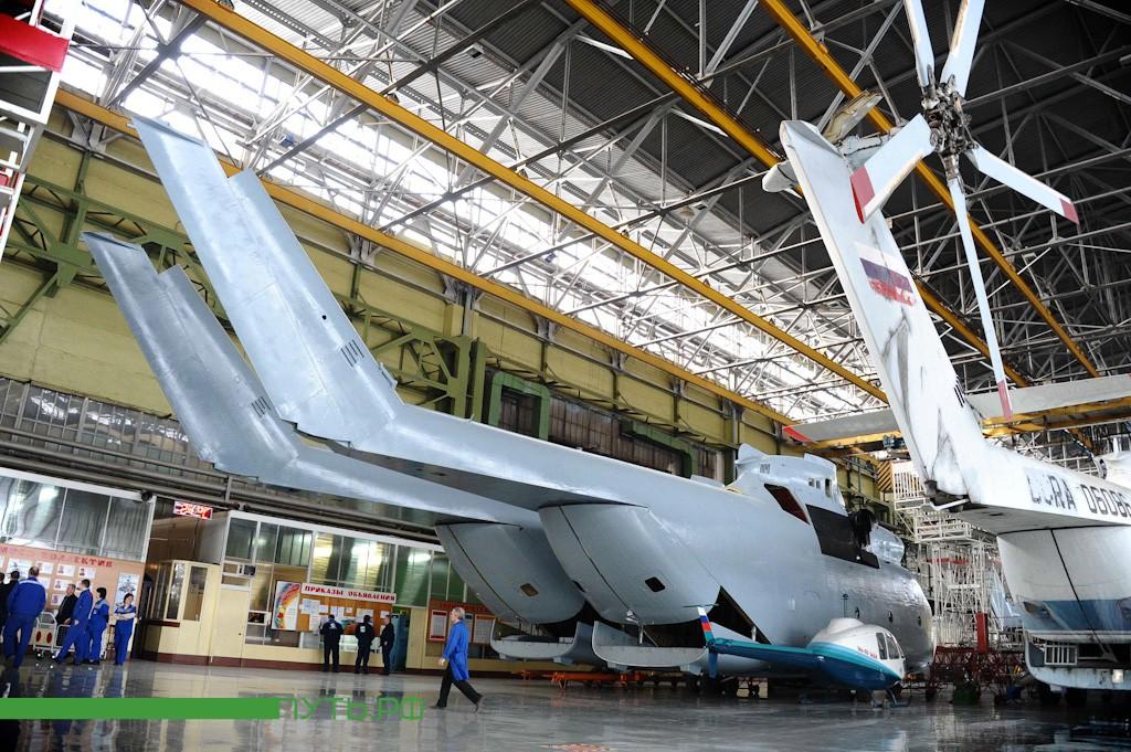гигантские габариты Ми-26