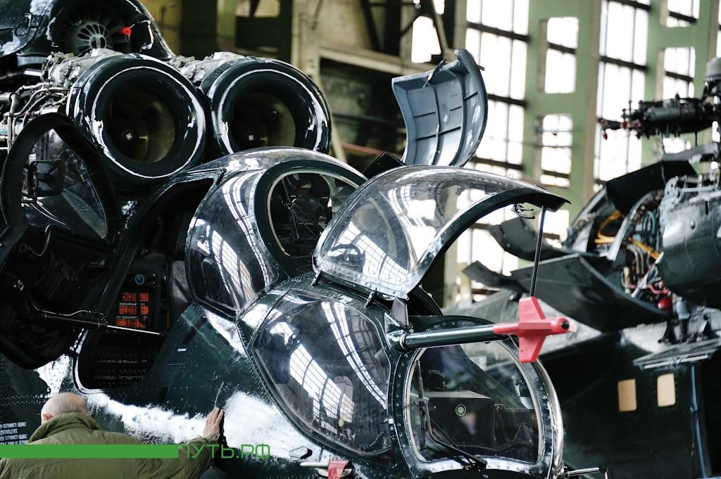 ударный вертолет Ми-28