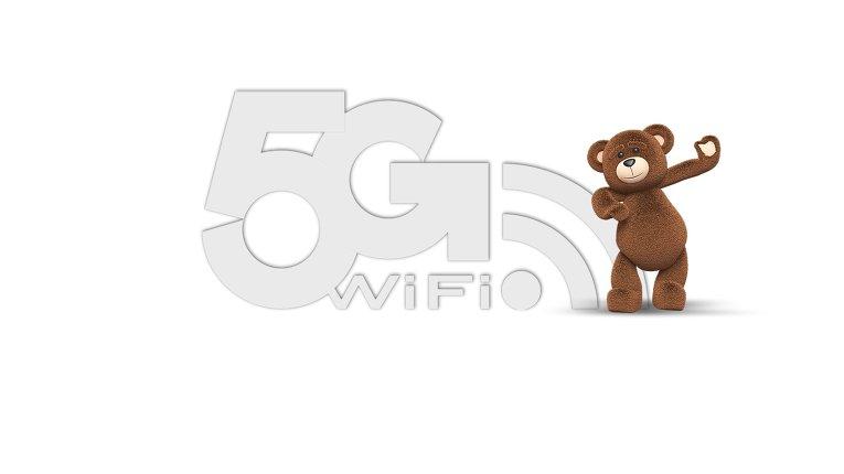 В России появился WiFi 5G
