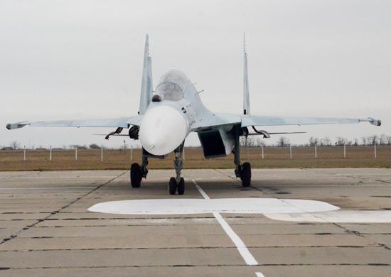 На вооружение морской авиации Черноморского флота поступили многофункциональные истребители Су-30