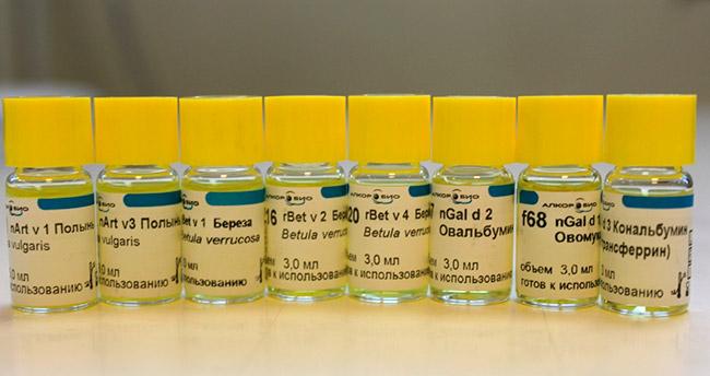 Российская компания выпустила 16 новых аллергенов, в том числе два аллергокомпонента тимофеевки