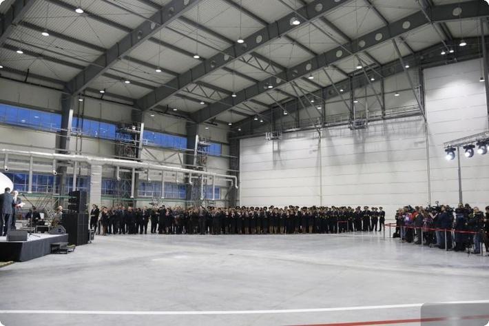 В Свердловской области открылся инновационный авиационно-технический центр