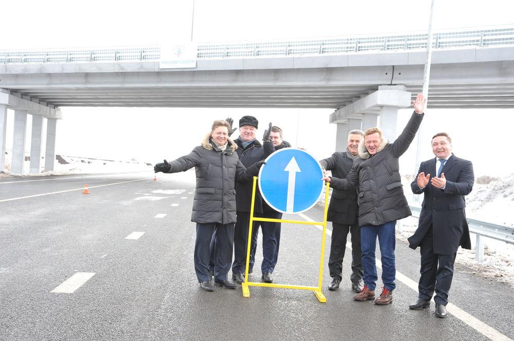 Состоялось открытие нового участка подъездной дороги к Оренбургу