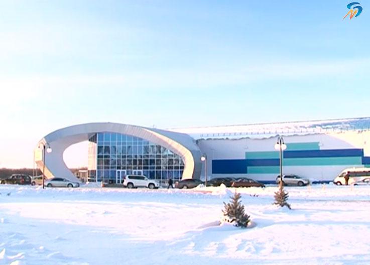 В Белгородской области открылся новый Ледовый дворец